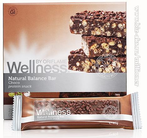 протеиновые батончики нэчурал баланс шоколад с какао, ячменем и овсяными хлопьями