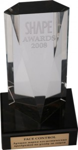коллекция макияжа Парк Авеню от Орифлейм получила премию Shape Awards 2008