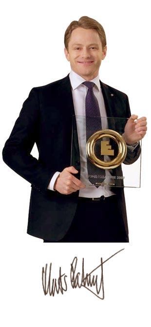 Орифлейм получила премию Брэнд года/Effie 2009