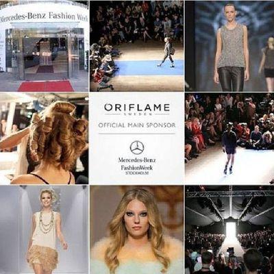 Орифлейм официальная косметика Недели моды Стокгольм