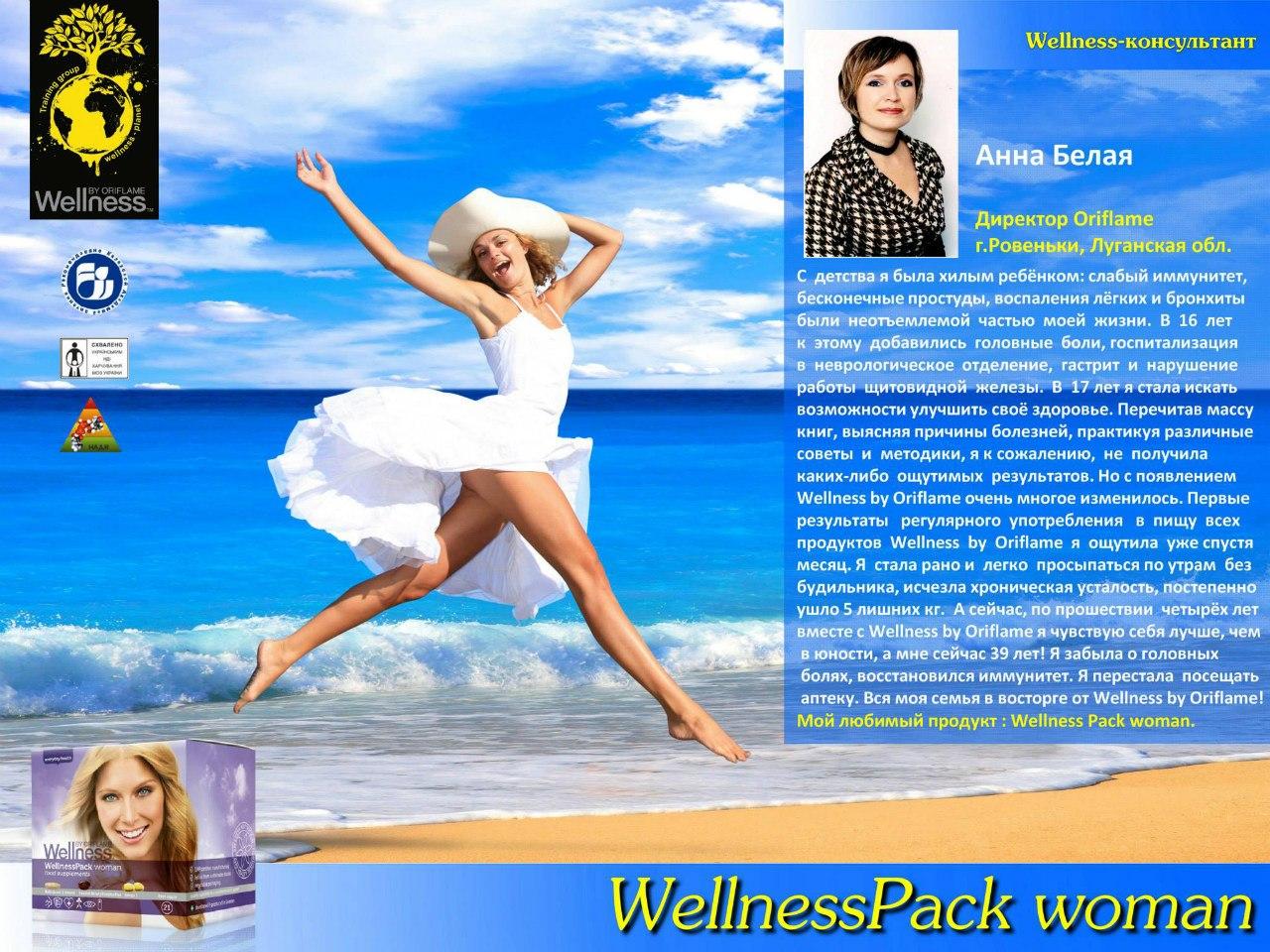 вэлнэс-пэк - решение проблем с хронической усталостью, лишним весом и недостатком витаминов