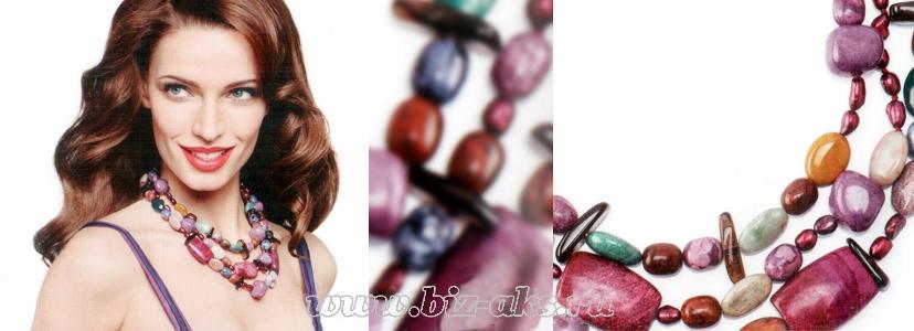 Энергия цвета - колье, ювелирные украшения от Орифлейм